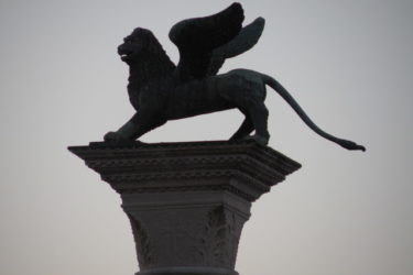 Lion's Column, St. Mark's Square